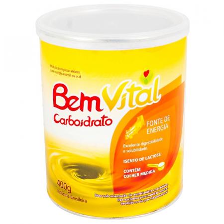 BemVital Carboidrato 400g