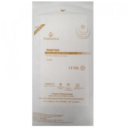 Curativo de Alginato de Cálcio 10cm x 20cm Kangli Sorb