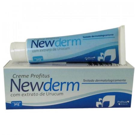 Newderm Creme com Extrato de Urucum 30g