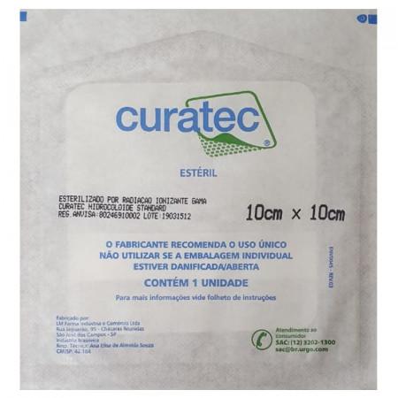 Curativo Hidrocoloide Standard 10cm X 10cm Curatec