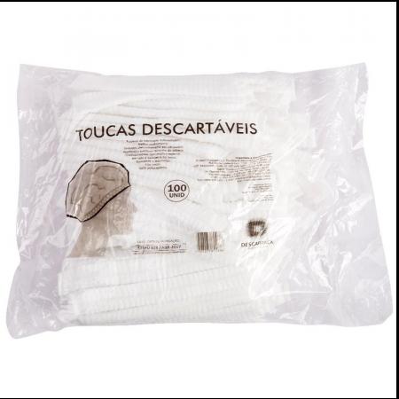 Touca Descartável com 100 Unidades Descarpack