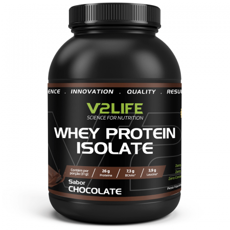 Whey Protein Isolate Chocolate 900g V2 Life