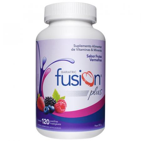 Bariatric Fusion Plus Frutas Vermelhas com 120 Pastilhas Mastigáveis