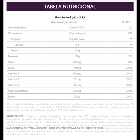 Colágeno Hidrolisado Verisol Frutas Amarelas 120g com 30 Sachês Sanavita