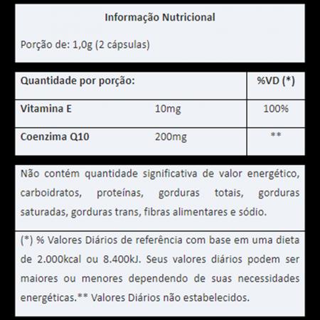 Coenzima CoQ10 500mg com 60 Cápsulas Vitafor