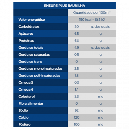 Ensure Plus Baunilha 200ml