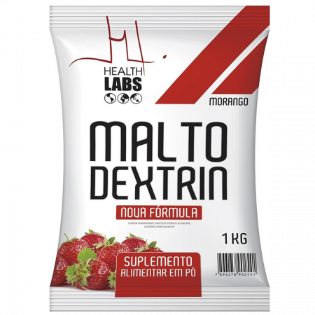 Maltodextrin Morango 1kg Health Labs