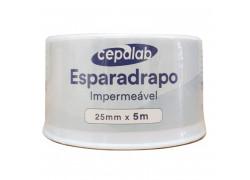 Esparadrapo Impermeável Branco 25mm X 3m Cepalab