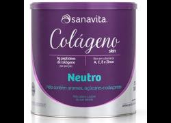 Colágeno Skin Neutro 300g Sanavita