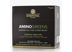 Amino Greens Display 30 Sachês Essential