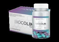 Biocolin Hair 500mg 60 Cápsulas Central Nutrition