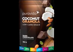 Coconut Granola Chocolate 180g PuraVida