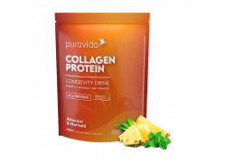 Collagen Protein Abacaxi Com Hortelã 450g PuraVida