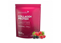Collagen Protein Berries 450g PuraVida