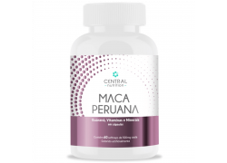 Maca Peruana 60 Softcaps 500mg Central Nutrition
