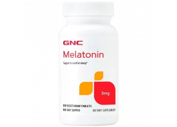 Melatonin 120 Cápsulas 3mg GNC