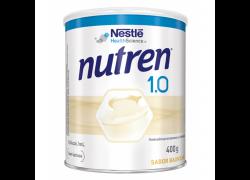Nutren 1.0 Sabor Baunilha 400g Nestlé